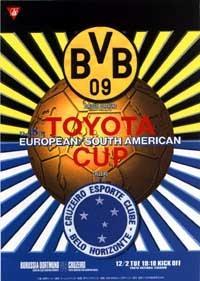 Межконтинентальный кубок по футболу боруссия- крузейро