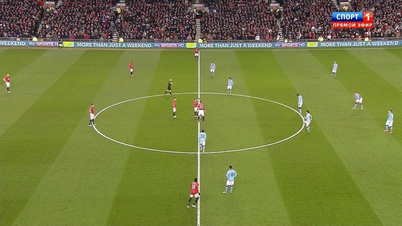 EPL - Manchester United v Manchester City | Full Match |