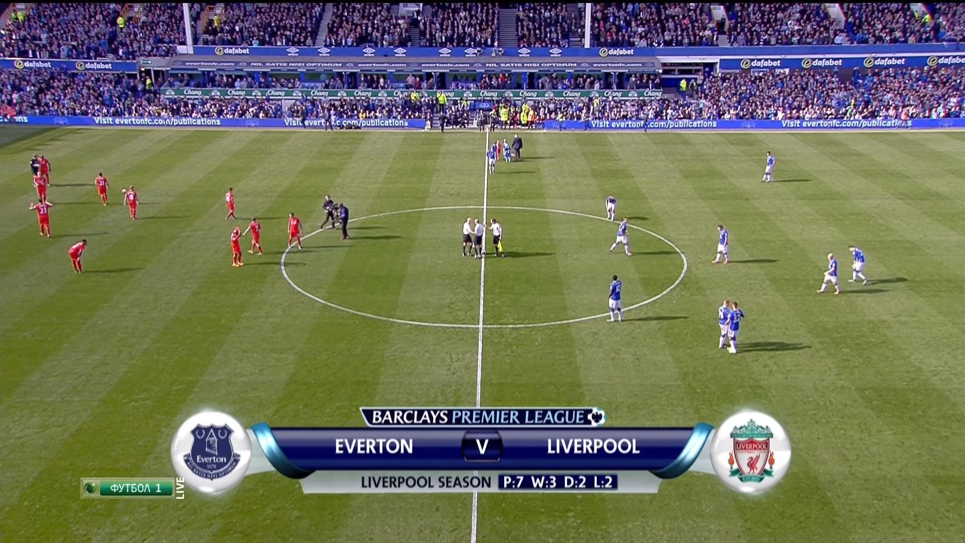 Футбол англия на нтв эвертон