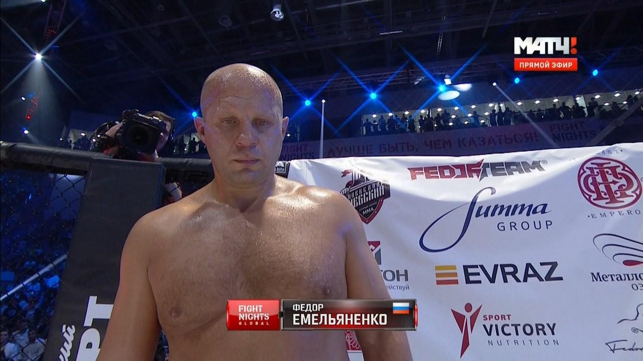 Fight Nights: Ф. Емельяненко (Россия) - Ф. Мальдонадо (Бразилия) | HDTVRip 720 | 50fps
