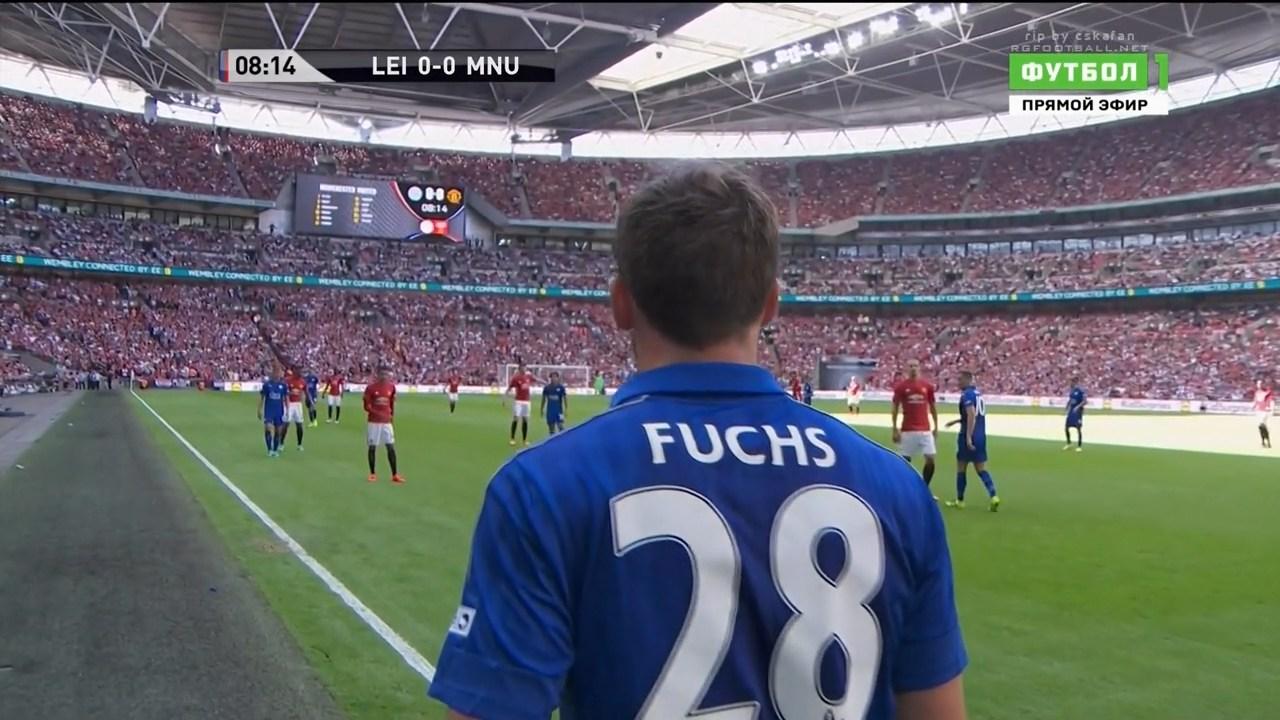 Футбол. Суперкубок Англии 2016. Лестер Сити - Манчестер Юнайтед (2016) HDTVRip 720p