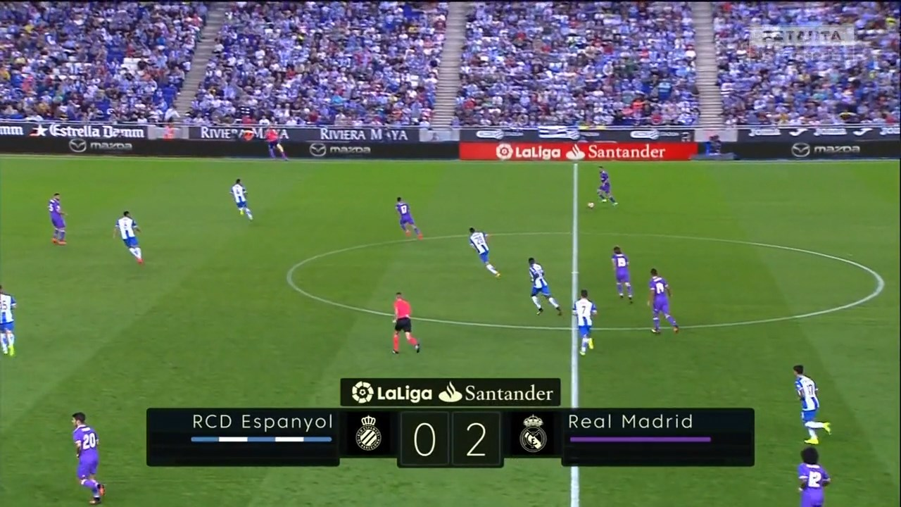 Футбол. Чемпионат Испании 2016-17 (4-й тур) Обзор матчей (2016) HDTVRip 720p