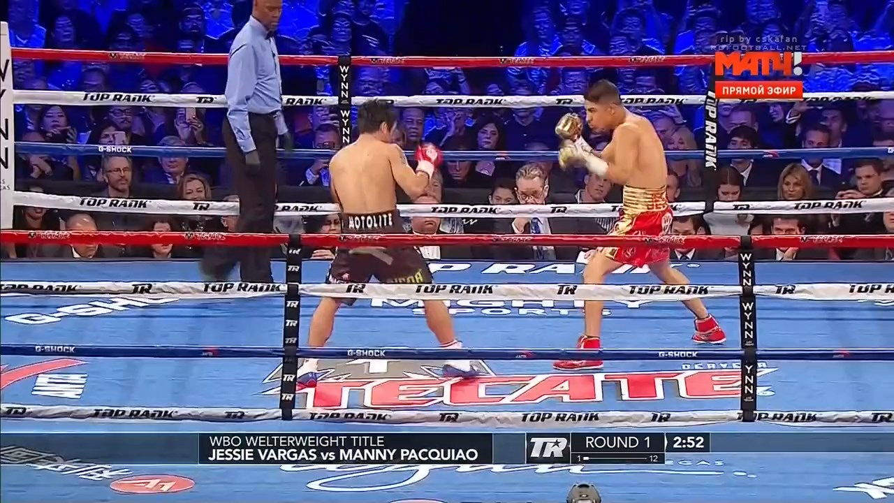 Manny pacquiao, right, defeated brandon rios in a unanimous decision