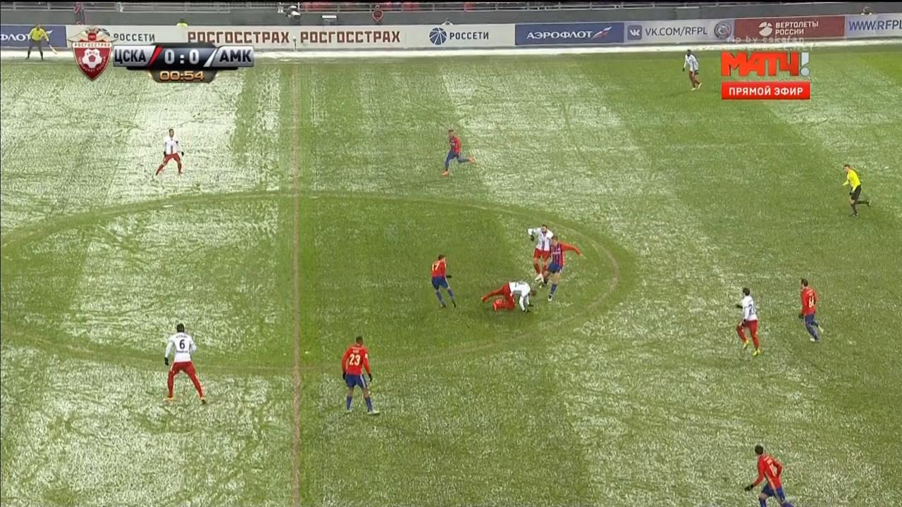 последний матч цска 2017