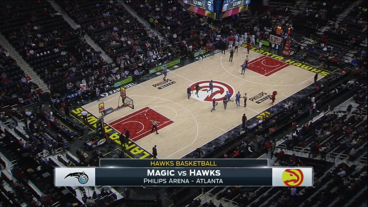 Orlando magic v atlanta hawks - game three