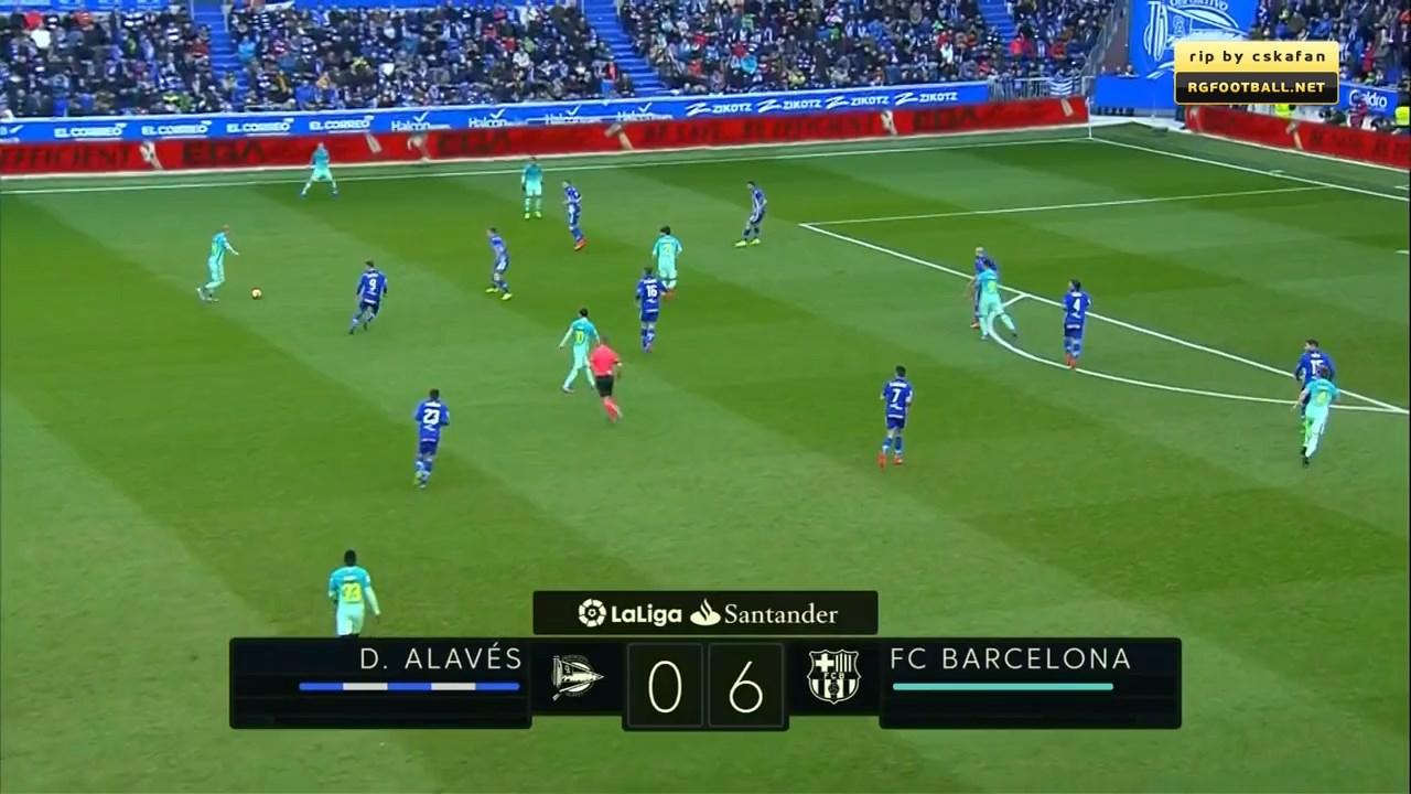Футбол. Чемпионат Испании 2016-17 (22-й тур) Обзор матчей (2016) HDTVRip 720p