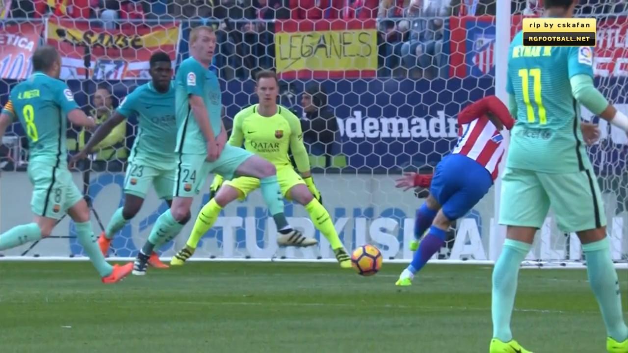 Футбол. Чемпионат Испании 2016-17 (24-й тур) Обзор матчей (2016) HDTVRip 720p