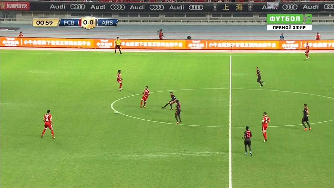 Футбол. Международный кубок чемпионов 2017. Бавария Мюнхен - Арсенал Лондон (2017) HDTVRip 720p