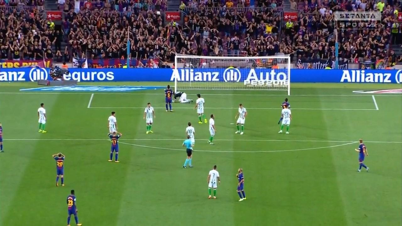 Футбол. Чемпионат Испании 2017-18 (1-й тур) Обзор матчей (2017) HDTVRip 720p