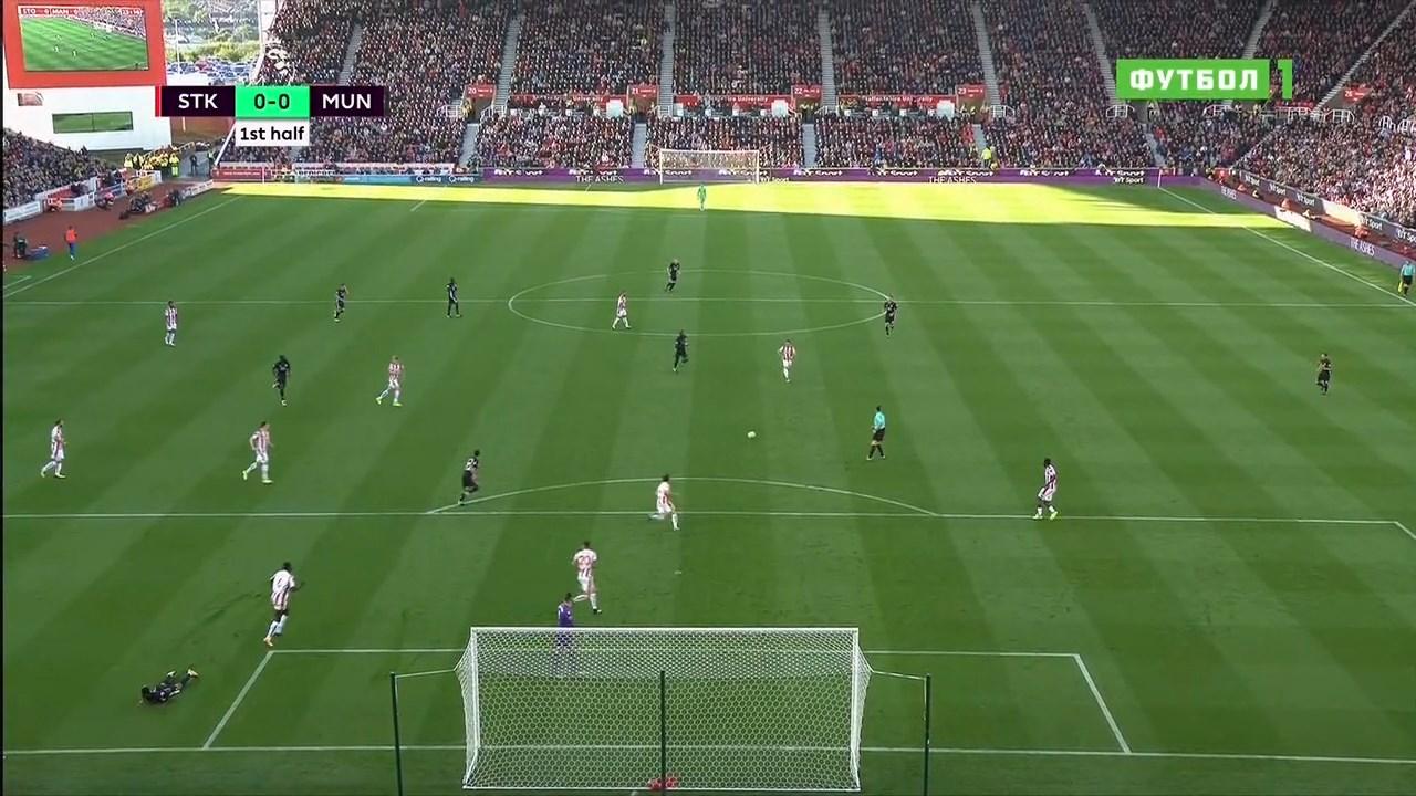 Футбол. Чемпионат Англии 2017-18 (4-й тур) Обзор матчей (2017) HDTVRip 720p