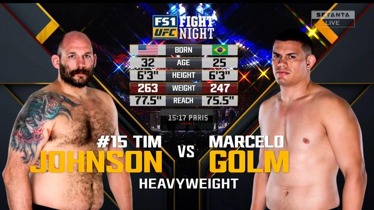 Смешанные единоборства. UFC Fight Night 125: Machida vs. Anders + Main Card (2018) HDTVRip 720p