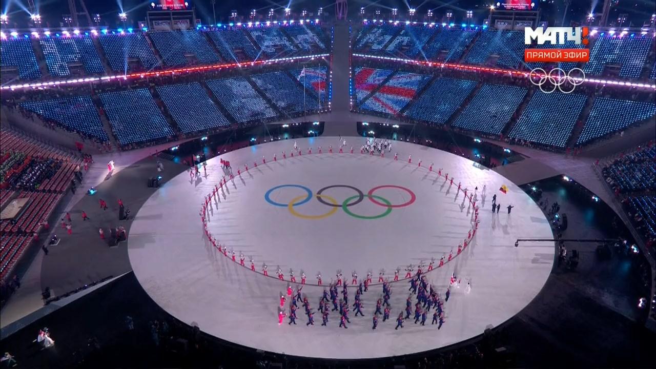 XXIII Зимние Олимпийские игры в Пхёнчане (Церемония открытия) (2018) HDTVRip 720p
