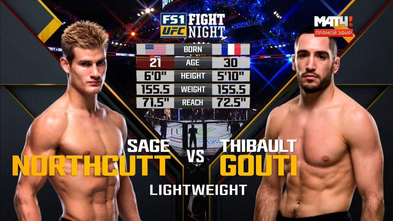 Смешанные единоборства. UFC Fight Night 126: Cowboy vs. Medeiros + Main Card (2018) HDTVRip 720p