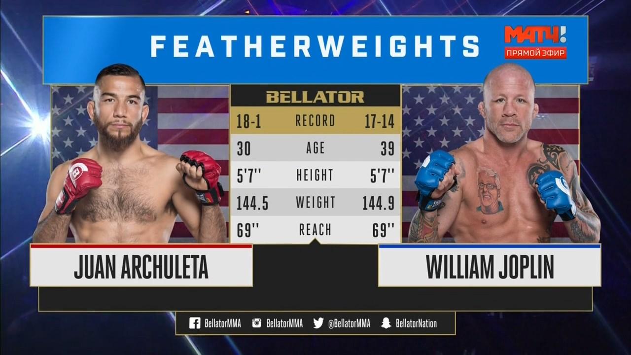 Смешанные единоборства. Bellator 195: Caldwell vs. Higo + Main Card (2018) HDTVRip 720p