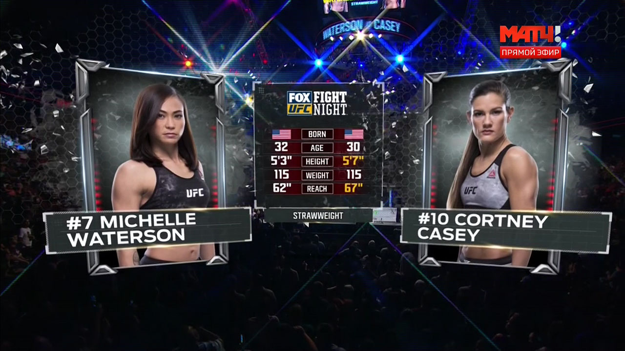 Смешанные единоборства. UFC on FOX 29: Poirier vs. Gaethje + Main Card (2018) HDTVRip 720p