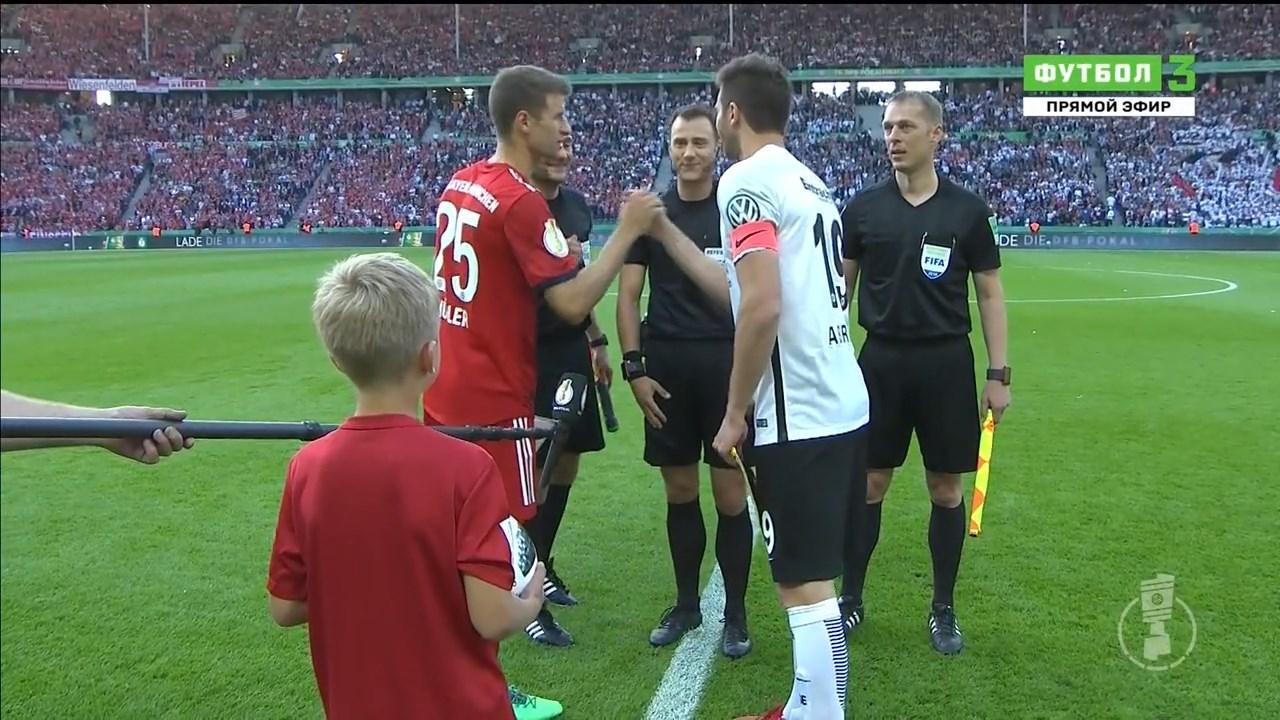 Футбол. Кубок Германии 2017-18 (Финал) Бавария – Айнтрахт (2018) HDTVRip 720p